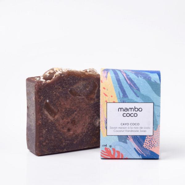Savon artisanal à la noix de coco fabriqué par Mambo Coco
