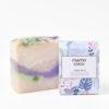 Savon artisanal au lilas fabriqué Mambo Coco