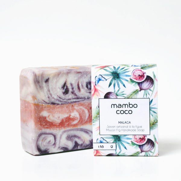 Savon artisanal à la figue fabriqué par Mambo Coco