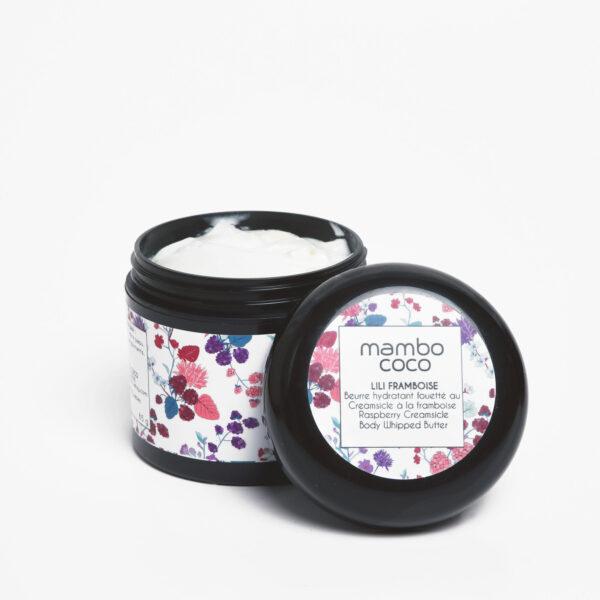 Beurre corporel au Creamsicle à la framboise - Mambo Coco